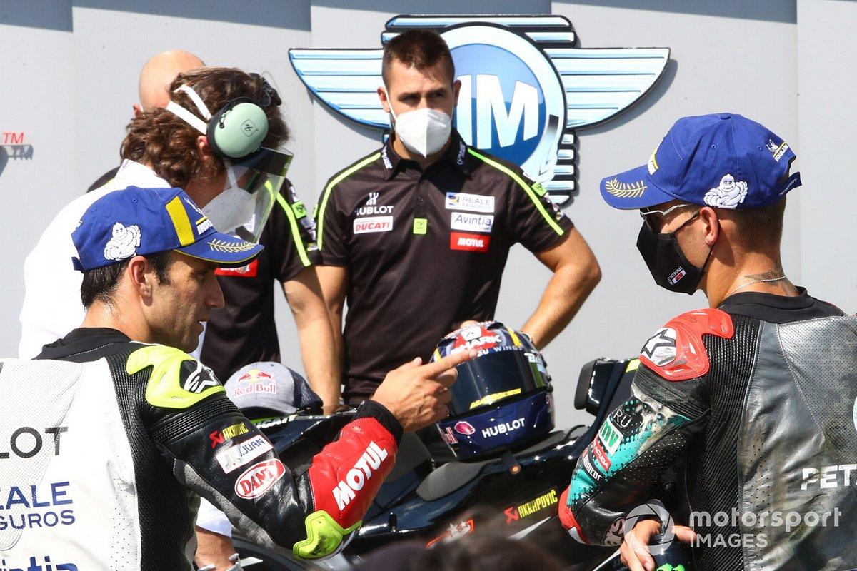 Johann Zarco, Avintia Racing, Fabio Quartararo, Petronas Yamaha SRT