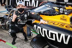 Polesitter Patricio O'Ward, Arrow McLaren SP Chevrolet