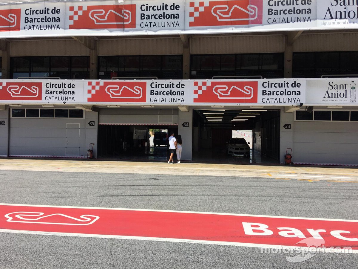 Boxes del Circuit de Barcelona