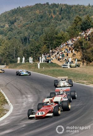 Clay Regazzoni, Ferrari 312B, Chris Amon, March 701, Jackie Oliver, BRM P153, Henri Pescarolo, Matra MS120