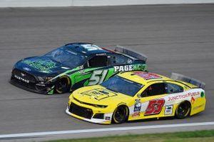 Josh Bilicki, Rick Ware Racing, Chevrolet Camaro, Joey Gase, Petty Ware Racing, Page Construction Ford Mustang