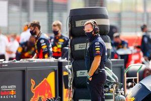 Christian Horner, Team Principal, Red Bull Racing on the grid