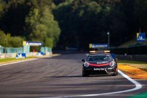 La voiture de sécurité Porsche, TOTAL 6 Heures de Spa Francorchamps, Spa Francorchamps, Stavelot, Belgium