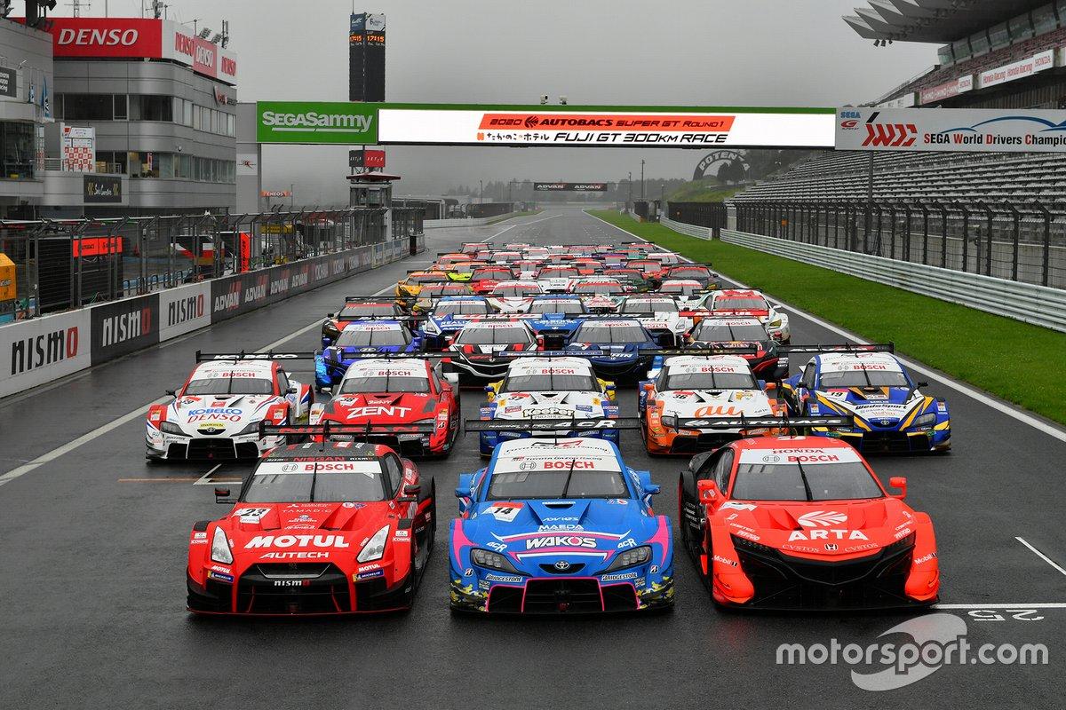 2020 Super GT all cars