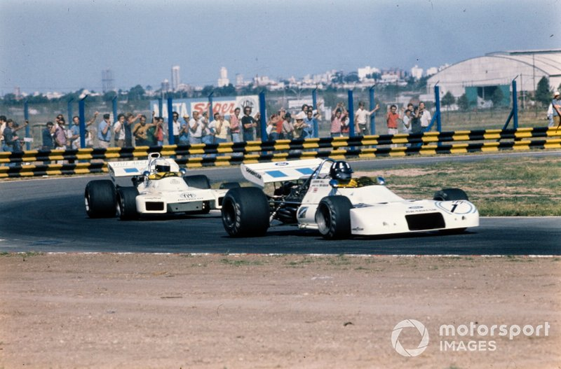 Graham Hill, Brabham BT33 Ford, Carlos Reutemann, Brabham BT34 Ford