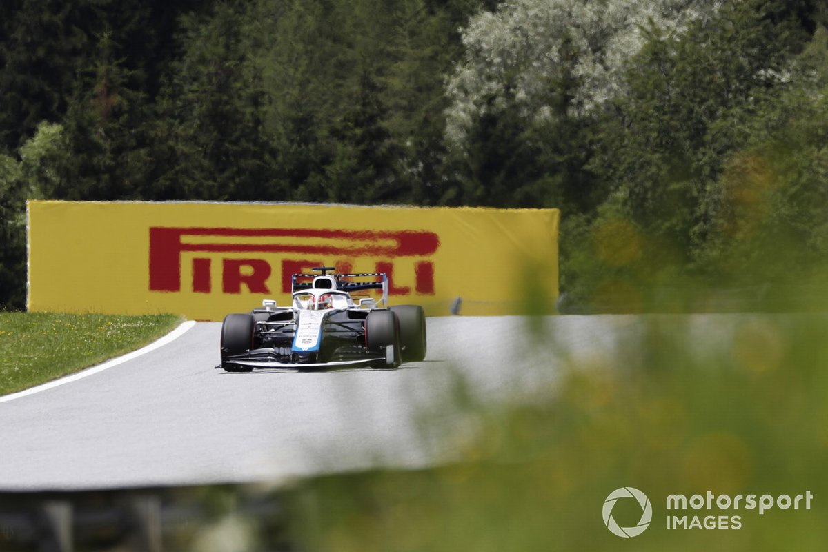 Nicholas Latifi, Williams FW43 in azione