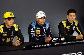 Guanyu Zhou, UNI Virtuosi Racing Sergio Sette Camara, Dams Jack Aitken, Campos Racing