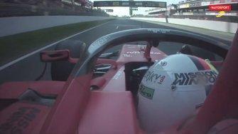 Onboard Sebastian Vettel, Ferrari