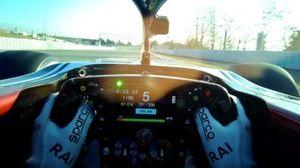 Visor cam Kimi Raikkonen, Alfa Romeo