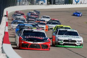 Christopher Bell, Joe Gibbs Racing, Toyota Supra Ruud and Cole Custer, Stewart-Haas Racing, Ford Mustang FIELDS
