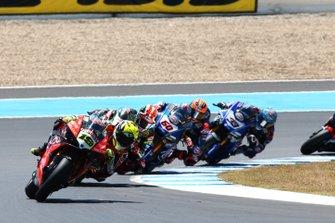 Alvaro Bautista, Aruba.it Racing-Ducati Team, Jonathan Rea, Kawasaki Racing, Michael van der Mark, Pata Yamaha