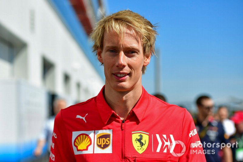 Brendon Hartley, Ferrari Development Driver