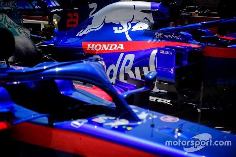 Coche de Alex Albon, Toro Rosso STR14