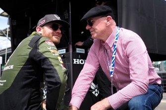 Conor Daly, Andretti Autosport Honda, mit Vater Derek Daly