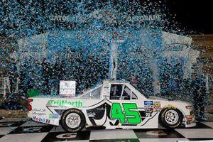 Race Winner Ross Chastain, Niece Motorsports, Chevrolet Silverado TruNorth/Paul Jr. Designs