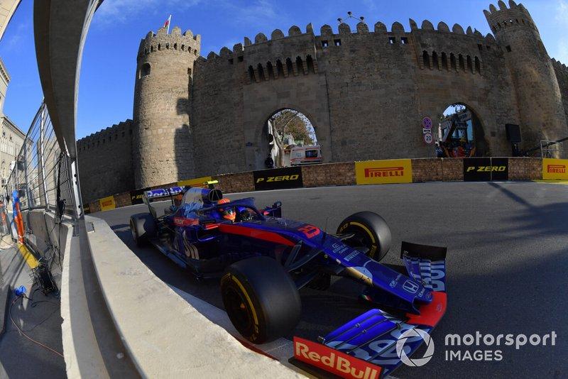 11° en el GP de Azerbaiyán