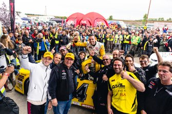 Race winner Alon Day, Caal Racing