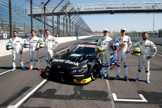 Alle BMW-coureurs