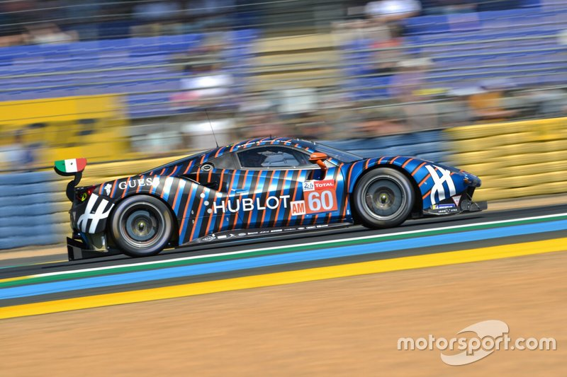 GTE-Am: #60 Kessel Racing, Ferrari 488 GTE