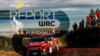 Copertina report WRC Portogallo