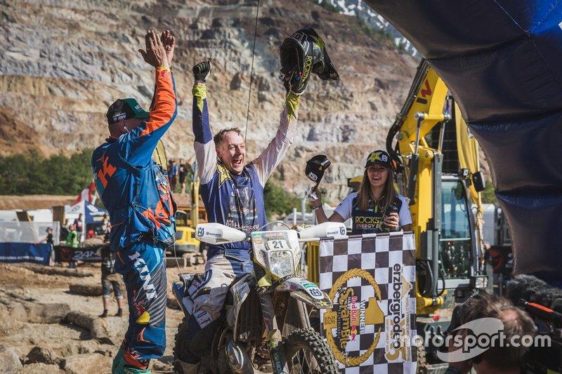 El podio del Erzberg Rodeo 2019