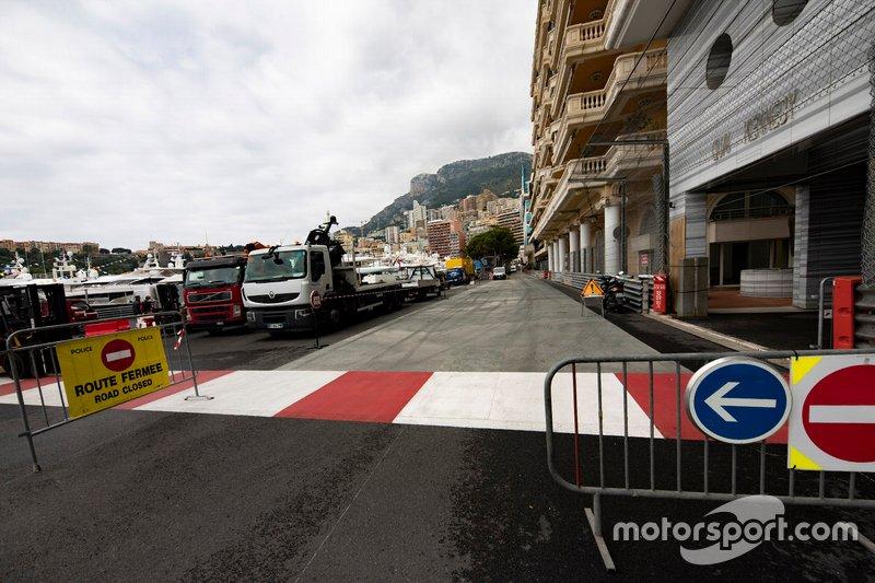 Nova área de escape na chicane de Mônaco