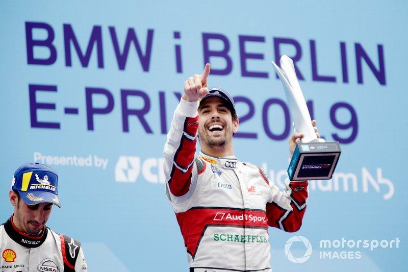 2018/2019 - Fórmula E - Terceiro colocado no mundial (Audi Abt)