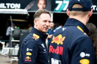 Christian Horner, teambaas Red Bull Racing en Max Verstappen, Red Bull Racing