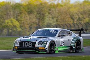 #108 Bentley Team M-Sport Bentley Continental GT3: Alex Buncombe, Andy Soucek, Maxime Soulet