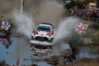 Юхо Хяннинен и Томи Туоминен, Tommi Mäkinen Racing, Toyota Yaris WRC