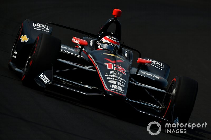 6º: #12 Will Power, Verizon 5G Team Penske, Team Penske Chevrolet: 228.665 mph