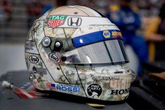 Casco di Alexander Rossi, Andretti Autosport Honda