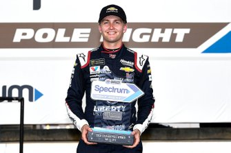 Pole William Byron, Hendrick Motorsports, Chevrolet Camaro Liberty Patriotic