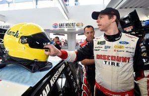Brad Keselowski, Team Penske, Ford Mustang Discount Tire and Paul Wolfe