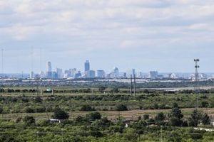 Une vue de la ville d'Austin
