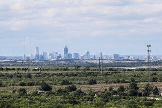 Vista del centro de Austin