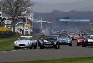 Graham Hill Trophy, Start Jon Minshaw Jaguar E Beighton Tiger