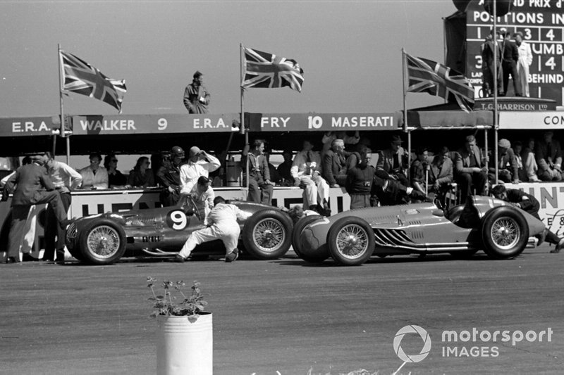 Peter Walker/Tony Rolt, ERA E-Type, Eugène Martin, Lago-Talbot T26C-DA