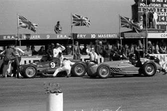 Peter Walker/Tony Rolt, ERA E-Type, et Eugène Martin, Lago-Talbot T26C-DA