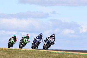 Kyle Kyle Smith, GEMAR Team Lorini, Corentin Perolari, GMT94 Yamaha, Lucas Mahias, Kawasaki Puccetti Racing