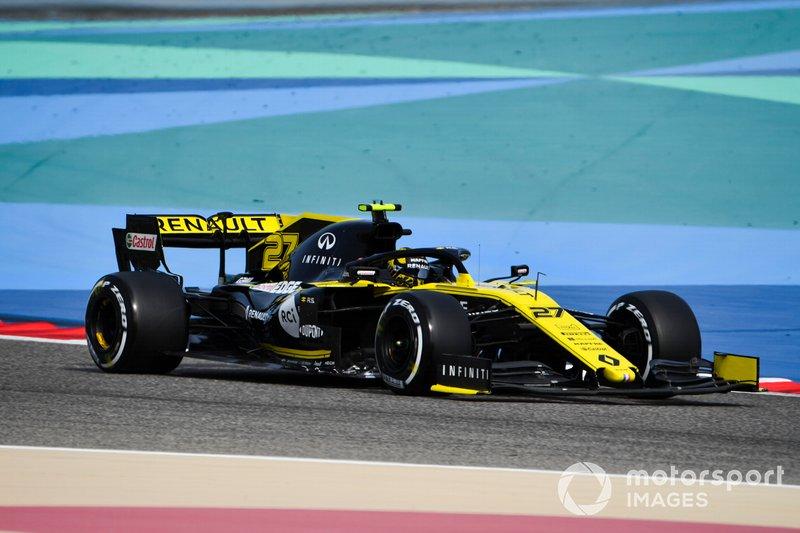 Nico Hulkenberg - Renault: 10 puan