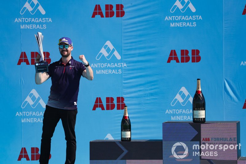 Leon Price, Team, Sporting manager, Envision Virgin Racing, celebrates on the podium