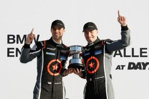 Podium: #75 Compass Racing McLaren GT4, GS, Paul Holton, Kuno Wittmer