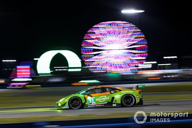 #11 GRT Grasser Racing Team Lamborghini Huracan GT3, GTD: Мірко Бортолотті, Крістіан Енгельхарт, Рік Брьокерс, Рольф Інайхен