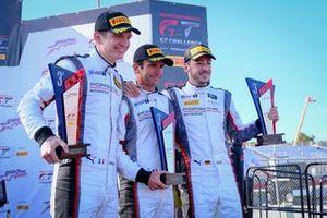 3. #911 Park Place Motorsports Porsche 911 GT3 R: Romain Dumas, Mathieu Jaminet, Sven Müller