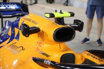 McLaren air inlet