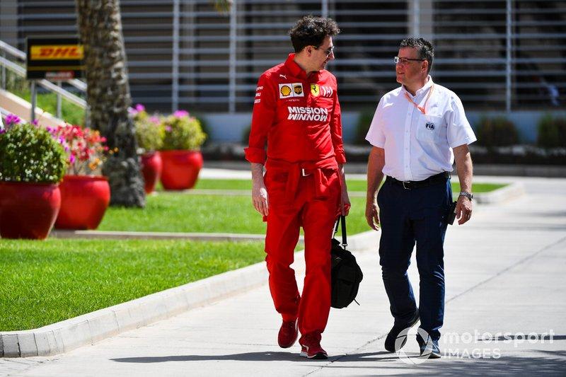 Маттиа Бинотто, руководитель команды Ferrari
