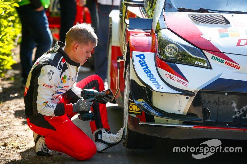 Ott Tänak, Toyota Gazoo Racing WRT Toyota Yaris WRC