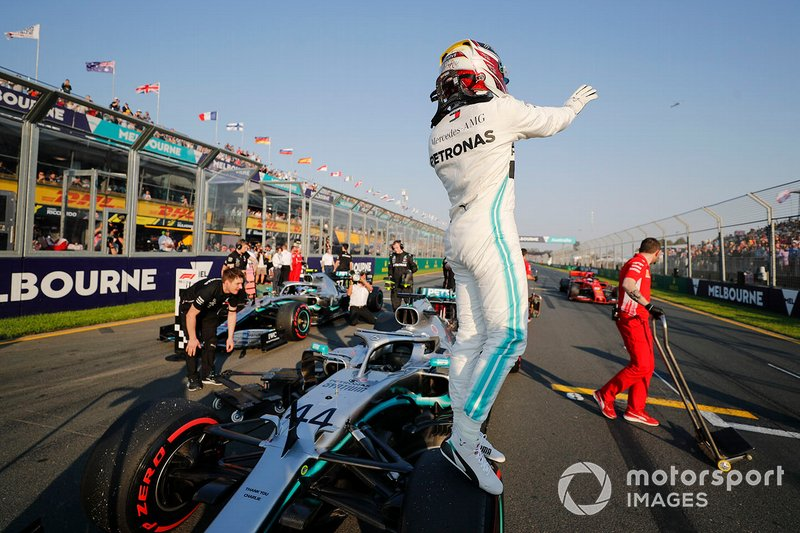 2019 comenzó como acabó 2018: con Lewis Hamilton logrando su pole position 84º