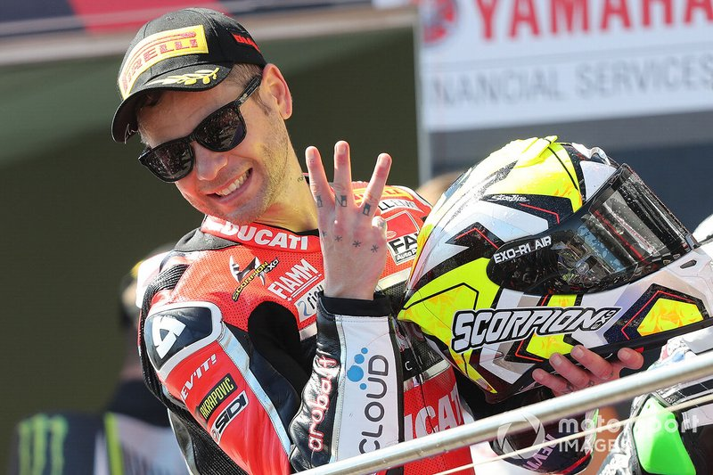 Race winner Alvaro Bautista, Aruba.it Racing-Ducati Team